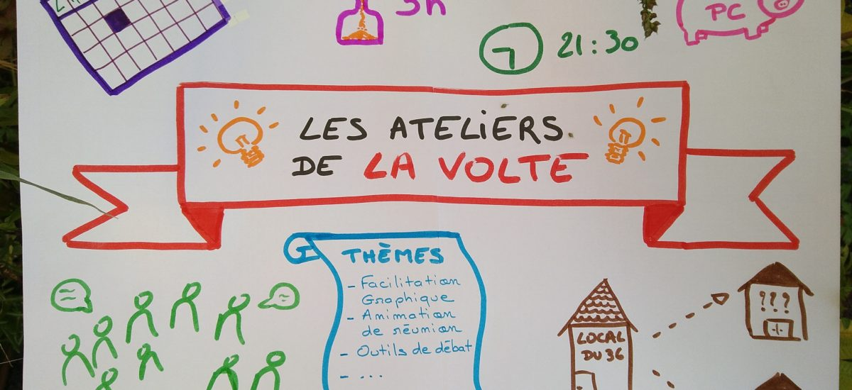 Les ateliers de La Volte : ouverture d'un cycle !