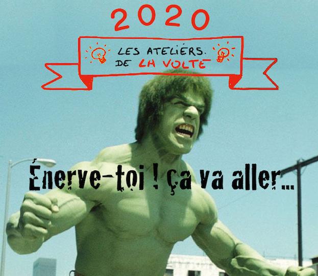 Les Ateliers de la Volte : la colère (11/03/2020)